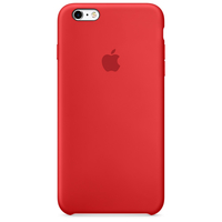 Apple iPhone 6s Plus Silikon Case - Rot (Rot)