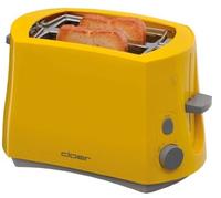Cloer 3317-2 Toaster (Gelb)