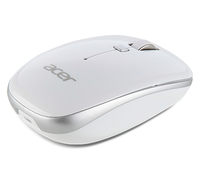 Acer NP.MCE1A.007 RF Wireless Optisch 1000DPI Ambidextrös Silber, Weiß Maus (Silber, Weiß)
