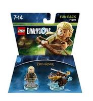 Warner Bros LEGO Dimensions Fun Pack - Herr Der Ringe Legolas (Mehrfarbig)