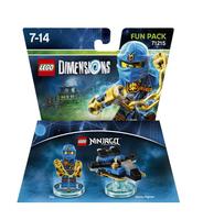 Warner Bros LEGO Dimensions Fun Pack - Ninjago Jay (Mehrfarbig)