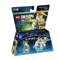 Warner Bros LEGO Dimensions Fun Pack - Ninjago Sensei Wu (Mehrfarbig)