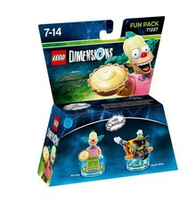 Warner Bros LEGO Dimensions Fun Pack - Krusty der Clown (Mehrfarbig)