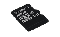 Kingston Technology microSDHC Class 10 UHS-I Card 32GB 32GB MicroSDHC UHS-I Klasse 10 Speicherkarte (Schwarz)
