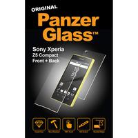 PanzerGlass 1609 klar Xperia Z5 Compact 1Stück(e) Bildschirmschutzfolie (Transparent, Schwarz)