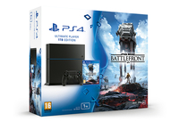 Sony PlayStation 4 Limited Edition STAR WARS Battlefront 1TB Bundle (Schwarz, Rot, Weiß)