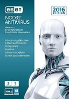 Eset NOD32 Antivirus 2016, 3U, 1Y