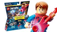 Warner Bros LEGO Dimensions Levelpack: Back to the Future 3Stück(e) Mehrfarben Baufigur (Mehrfarben)