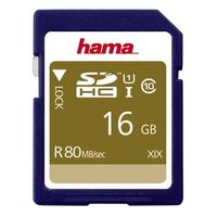 Hama SDHC 16GB (Blau)