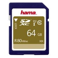 Hama SDXC 64GB (Blau)
