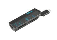 Trust 20968 USB 3.0 (3.1 Gen 1) Type-C Schwarz Kartenleser (Schwarz)