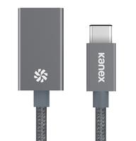 Kanex USB-C - USB-A 21cm (Grau)