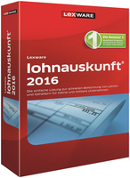 Lexware Lohnauskunft 2016 v24