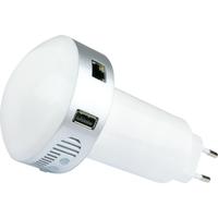 Schwaiger HA101 Z-Wave zentrale Smart Home Steuereinheit (Weiß)