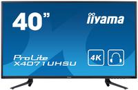 iiyama ProLite X4071UHSU-B1 39.5Zoll 4K Ultra HD MVA Matt Schwarz Flach Computerbildschirm LED display (Schwarz)