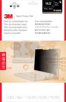 """3M PF140W9E Blickschutzfilter für 14,0""""-Breitbild-Laptop mit randlosem Display (Schwarz, Durchscheinend)"""