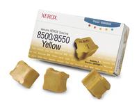 Xerox Genuine Solid Ink 8500/8550 Gelb (3 Sticks) (Gelb)