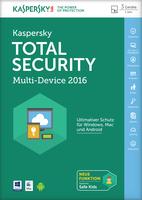 Kaspersky Lab Total Security Multi-Device 2016