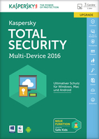 Kaspersky Lab Total Security Multi-Device 2016