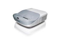 Benq MW883UST Desktop-Projektor 3300ANSI Lumen DLP WXGA (1280x800) 3D Grau, Silber Beamer (Grau, Silber)