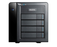 Promise Technology Pegasus2 R4 (Schwarz)