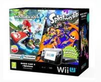 Nintendo Mario Kart 8 + Splatoon Wii U Premium Pack (Schwarz)