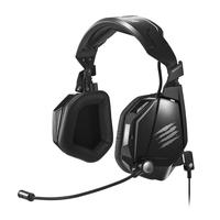 Mad Catz F.R.E.Q. TE Stereophonisch Kopfband Schwarz Headset (Schwarz)