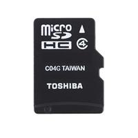 Toshiba HIGH SPEED M102 8GB 8GB MicroSDHC Class 4 Speicherkarte (Schwarz)