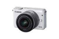 Canon EOS M10 + EF-M 15-45mm f/3.5-6.3 IS STM 18MP CMOS 5184 x 3456Pixel Weiß (Weiß)