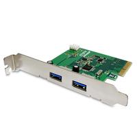 Fantec 1783 Eingebaut USB 3.0 Schnittstellenkarte/Adapter