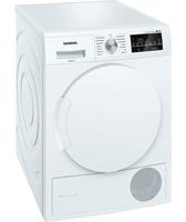 Siemens WT43W460 A++ Freestanding 7kg Front-load Weiß Wäschetrockner (Weiß)