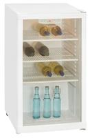 Exquisit BC1-10-4.1E Kühlschrank (Weiß)