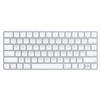 Apple MLA22LB/A Bluetooth QZERTY US English Silber, Weiß Tastatur (Silber, Weiß)