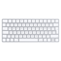 Apple Magic Keyboard (Silber, Weiß)