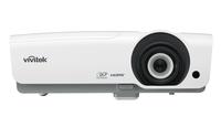 Vivitek DH976-WT Desktop-Projektor 4800ANSI Lumen DLP 1080p (1920x1080) 3D Weiß Beamer (Weiß)
