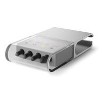 Microsoft RJ3-00002 Tastatur Zubehör (Silber, Transparent)