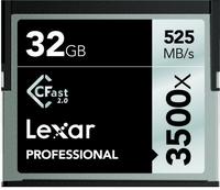 Lexar CFast 2.0, 32GB 32GB Kompaktflash Speicherkarte (Schwarz)