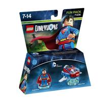 Warner Bros Lego Dimensions: Fun Pack DC Superman 2Stück(e) Mehrfarben Baufigur (Mehrfarben)
