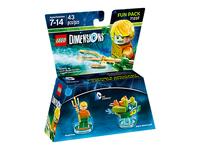 Warner Bros LEGO Dimensions: Aquaman Fun Pack 2Stück(e) Mehrfarben Baufigur (Mehrfarben)