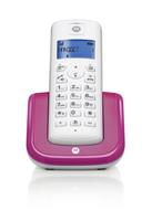 Motorola T201_V Telefon (Violett, Weiß)