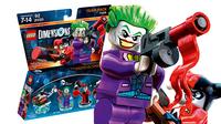Warner Bros Lego: Dimensions - Team Pack: DC Comics: Joker & Harley Mehrfarben Baufigur (Mehrfarben)