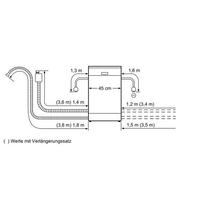 Bosch Serie 6 SPU58N05EU Freistehend 10Stellen A+ Grau Spülmaschine (Grau)