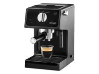 DeLonghi ECP 31.21 Freistehend Halbautomatisch Espressomaschine 1.1l 2Tassen Schwarz Kaffeemaschine (Schwarz)