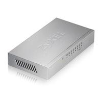 ZyXEL ES-108A V3 ungemanaged Fast Ethernet (10/100) Metallisch (Metallisch)