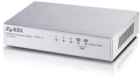 ZyXEL ES-105A Unmanaged network switch Fast Ethernet (10/100) Silber (Silber)