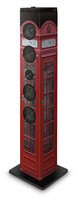Bigben Interactive TW7TB Turm 40W Schwarz, Rot, Weiß Home-Stereoanlage (Schwarz, Rot, Weiß)