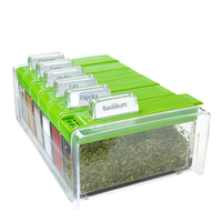 EMSA SPICE BOX (Grün, Transparent)
