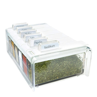 EMSA SPICE BOX (Transparent, Weiß)