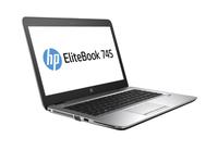 HP EliteBook 745 G3 Notebook-PC (Schwarz, Silber)