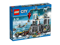 LEGO City Polizeiquartier auf der Gefängnisinsel (Mehrfarbig)